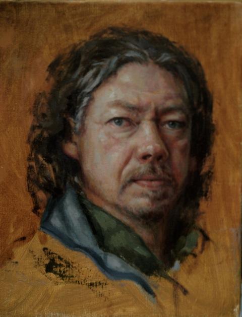 """Self Portrait"" by Frank Bruckmann"