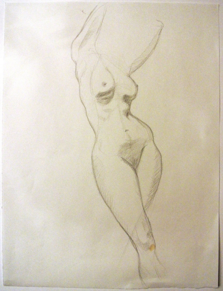 """""""Standing Nude"""" by Tracey Dinkin"""