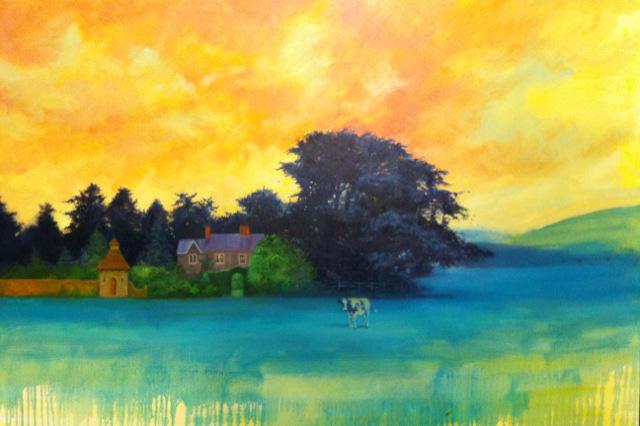 """Sunset at Keswick Farm"" by Joel Flora"