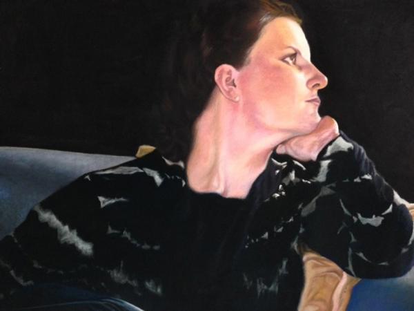 "Kristina"" (pastel) by John Lawson"