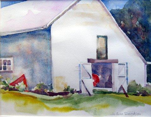 """""""Maine Barn"""" by JoAnn Davidson"""