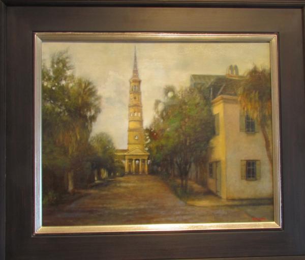 """St. Philips Charleston"" by Yasemin Tomakan"