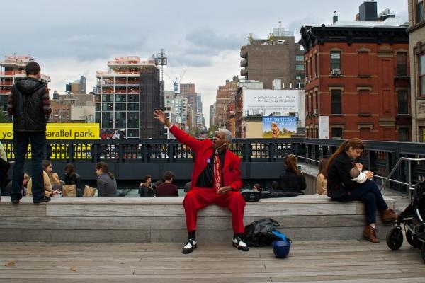 """""""Red Man"""" by Burr Tweedy"""