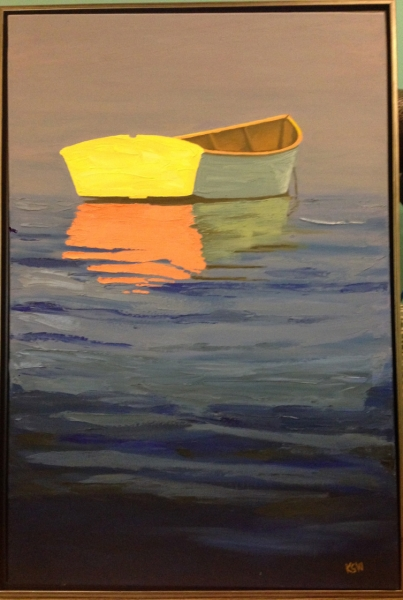 """Dinghy"" by Kathleen Weinstock"