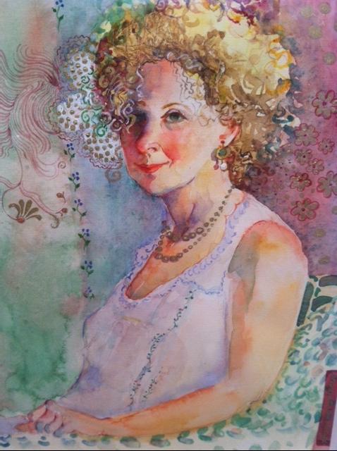 """""""Sandra"""" by Susan Spivack"""