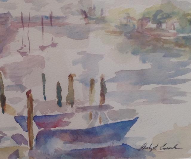 """Scene at Pinkney"" by Bidget Cusak"