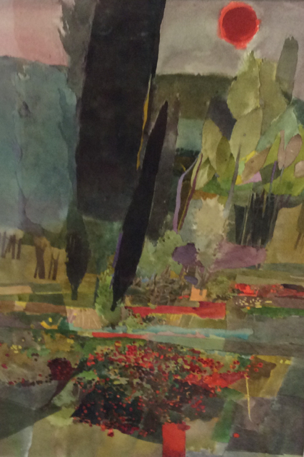 Field of Poppies by Robert Baxter