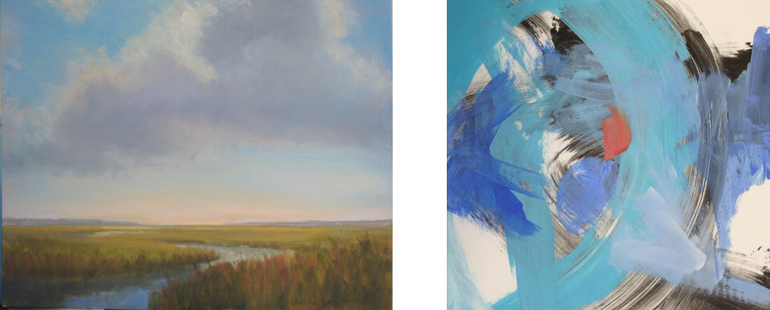 From Pure Realism to Abstract Painting