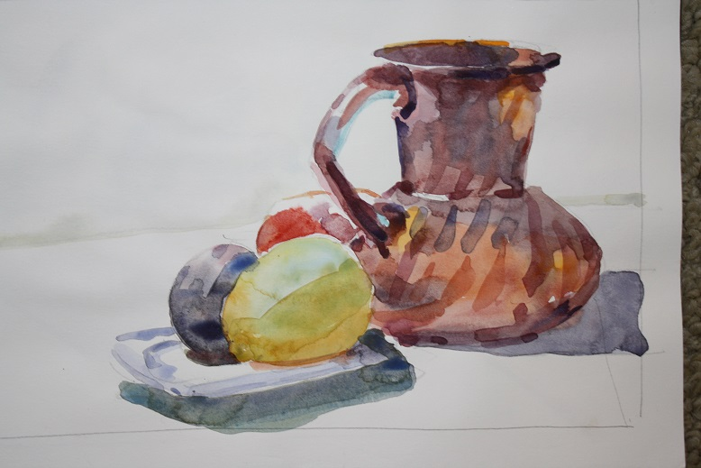 Watercolor, The Figure and Still Life