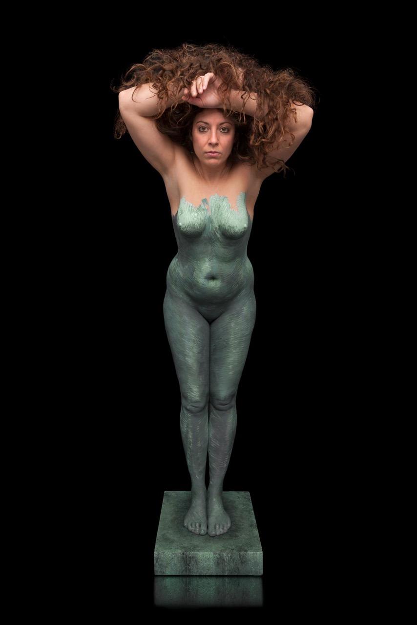 Gina Bronze-1 by Richard Ventre