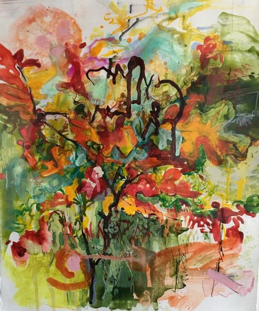 """""""Blazing Leaves,"""" by Heide Follin"""