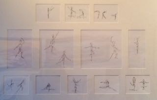 """""""Inspired by the American Ballet"""" by Ilana Appleby"""