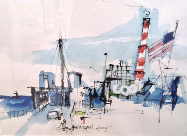 """Bridgeport Ferry"" by Judith Katz"