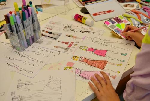 Fashion Illustration/Sewing