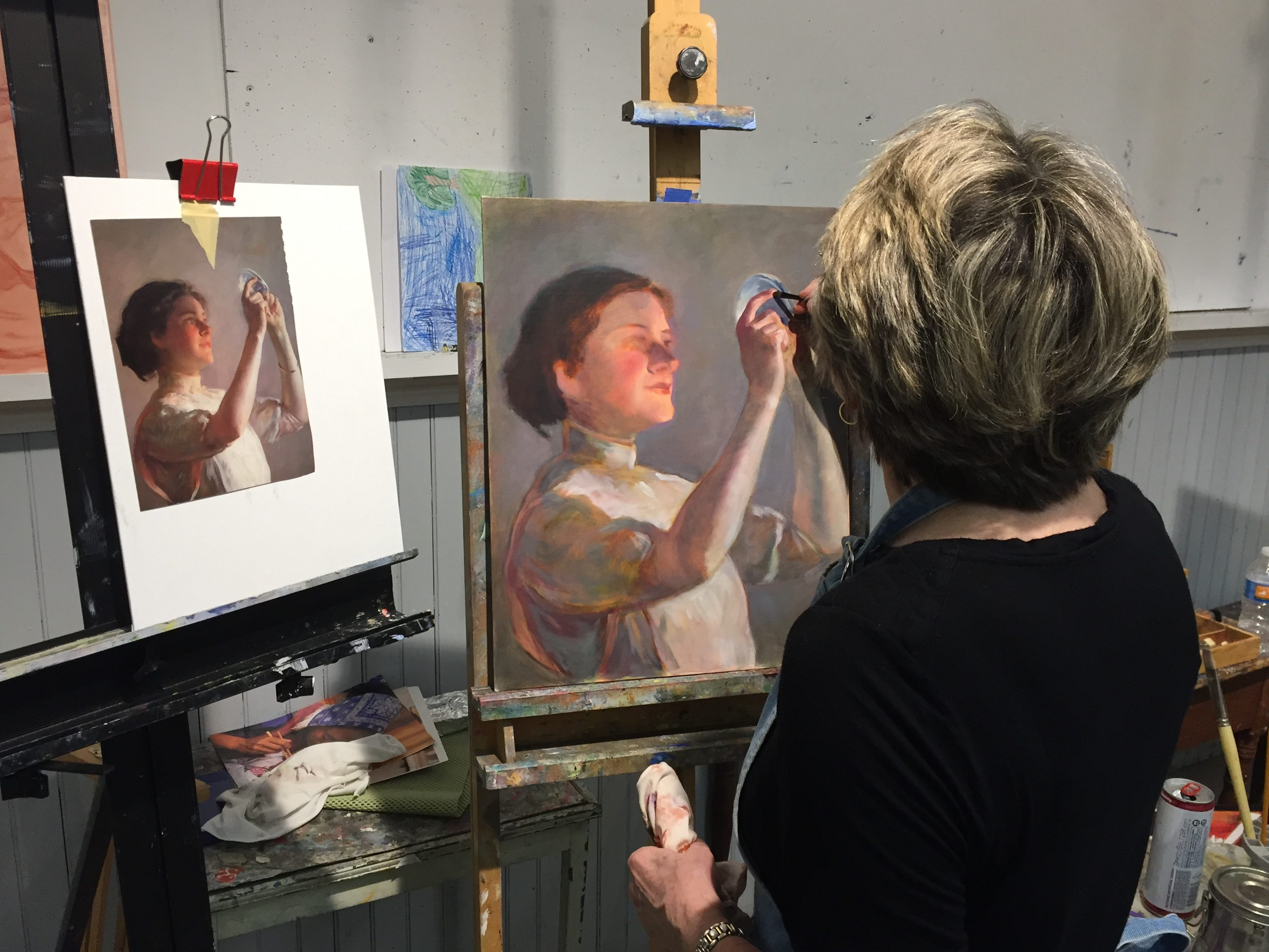 Oil Painting Methods/Monday Eve