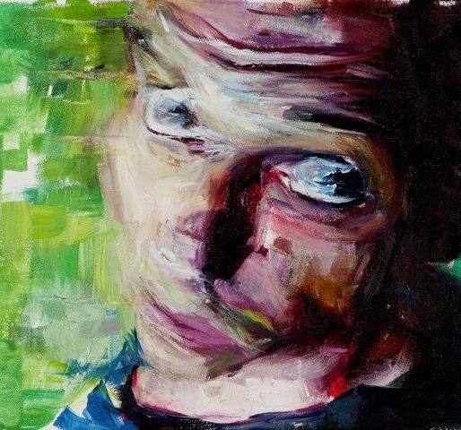Sam Morrow self-portrait