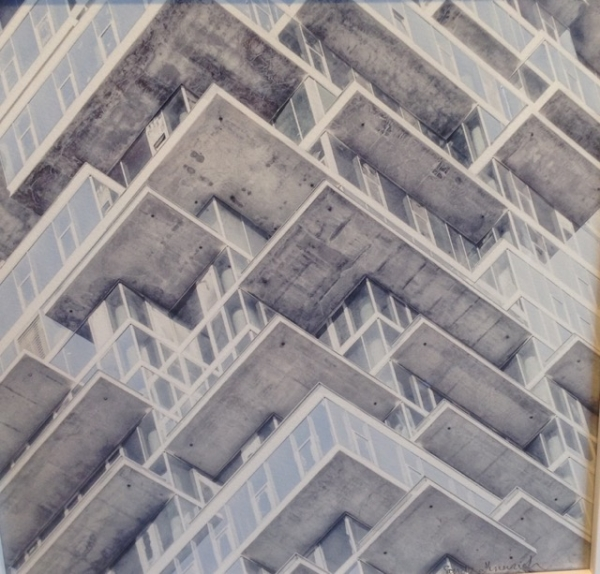 """Architectural Abstracts"" by Sandy Gennrich"