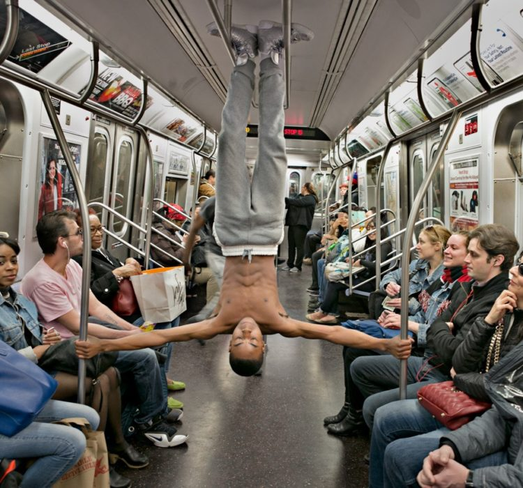 Straphanger by Robert Sachs Best in Show, Color Photography